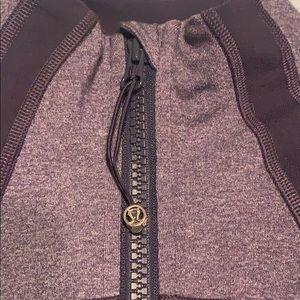 lululemon athletica Tops - Lululemon jacket in black swan color size 6 EUC